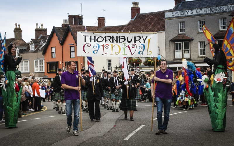 The Thornbury Carnival parade