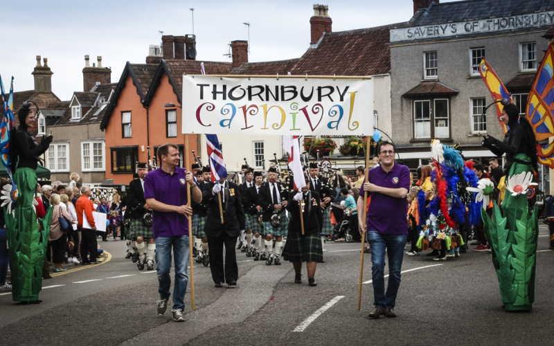 The Thornbury Carnival parade