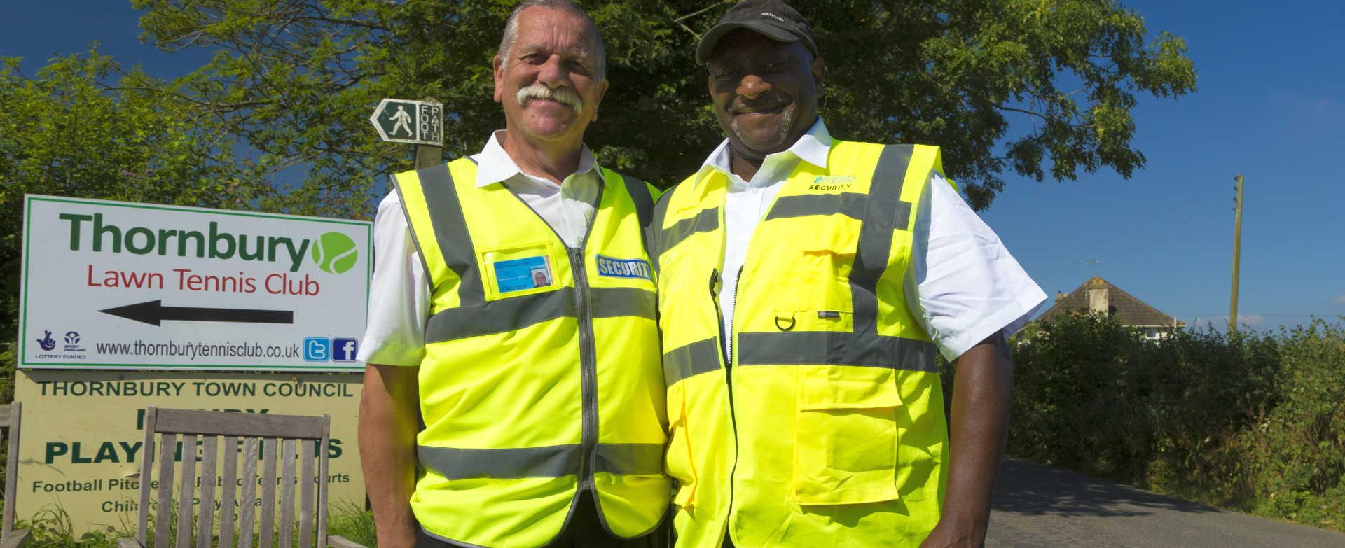 Happy volunteers at Thornbury Carnival